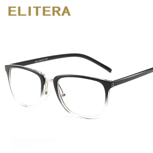 fd234587d15c ELITERA 2018 new fashion brand women glasses frame Anti blue Rays Men women TR90  glasses frame high quality vintage female gafas