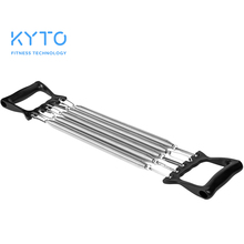 KYTO Spring Chest Developer Expander Tension Puller Fitness Stainless Steel Muscles Exercise Workout Equipment Resistance Bands