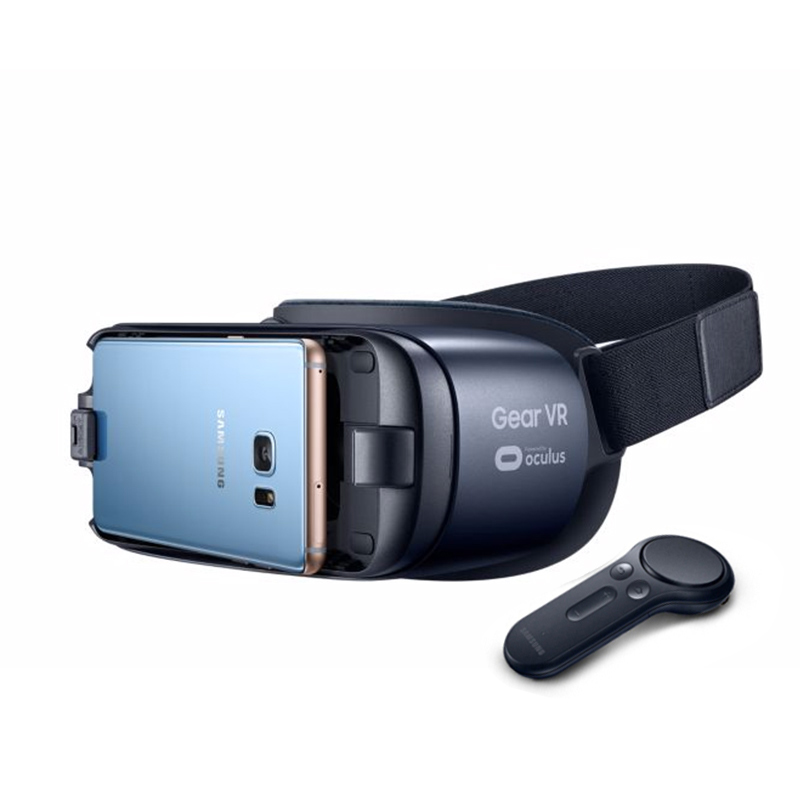 Gear VR5.0 and Controller New Virtual Reality Glasses Support Samsung Galaxy S9 S9Plus S8+(with Gear Remote Controller +Package)