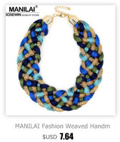 manilai модные металлические цепи колье ожерелья для женщин новый дизайн сплав макси нагрудник себе воротник ювелирные изделия
