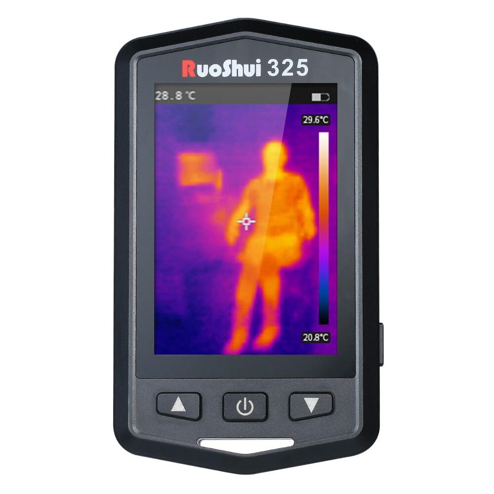 RuoShui professionnel Portable HD infrarouge imageur thermique infrarouge thermomètre IR imageur thermique dispositif d'imagerie multifonctionnel
