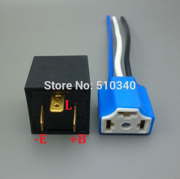 1/2/5/10/100 Unidades Hembra Cerámica LED Indicador de Señal de luz de Vehículo