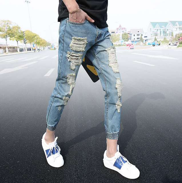 New Jeans Style 2017 Man
