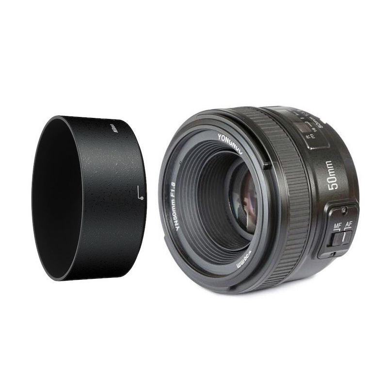 YONGNUO YN 50mm f/1.8 AF Lens YN50mm Aperture Auto Focus for Nikon DSLR Camera as AF-S 50mm 1.8G nikon lens 50 1 8 d nikkor af 50mm f 1 8d lenses for nikon d90 d7100 d7200 d610 d700 d810 d5 digital camera professional