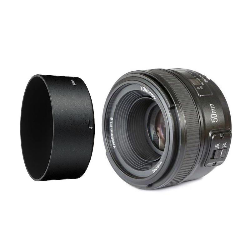 YONGNUO YN 50mm f/1.8 AF lentille YN50mm ouverture mise au point automatique pour Nikon DSLR appareil photo comme AF-S 50mm 1.8GYONGNUO YN 50mm f/1.8 AF lentille YN50mm ouverture mise au point automatique pour Nikon DSLR appareil photo comme AF-S 50mm 1.8G
