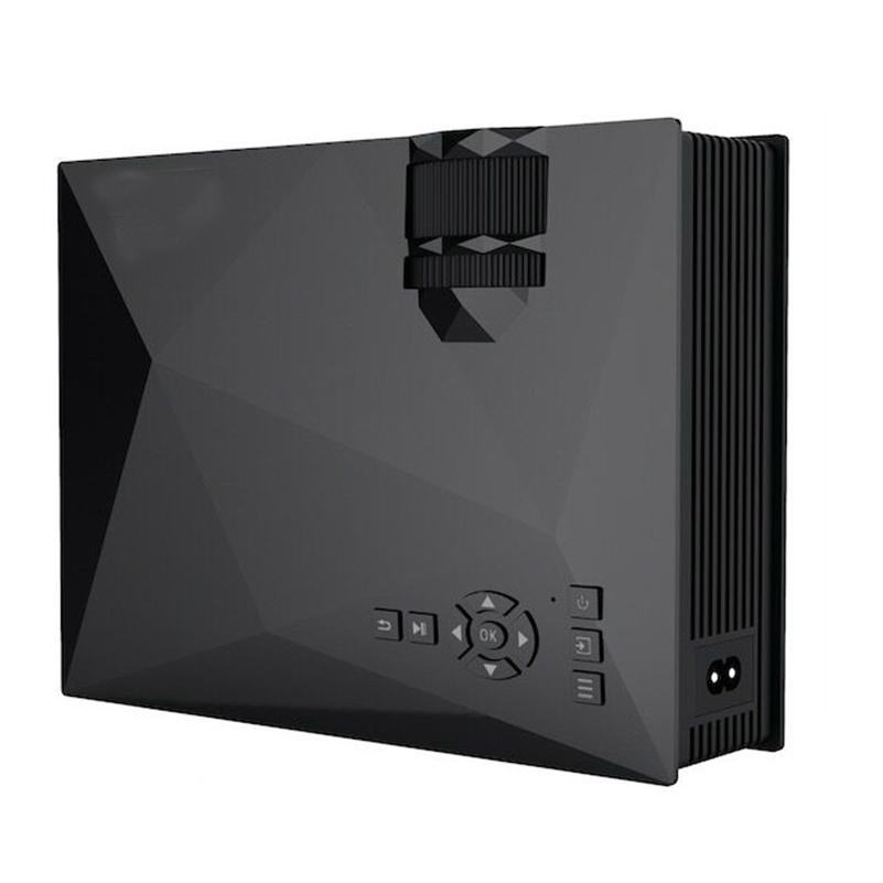 Prix pour Vente chaude UC46 Sans Fil WIFI Mini Portable Full HD LED Vidéo Projecteur Home Cinéma Soutien Miracast DLNA Airplay NOUS/EU/AU Plug