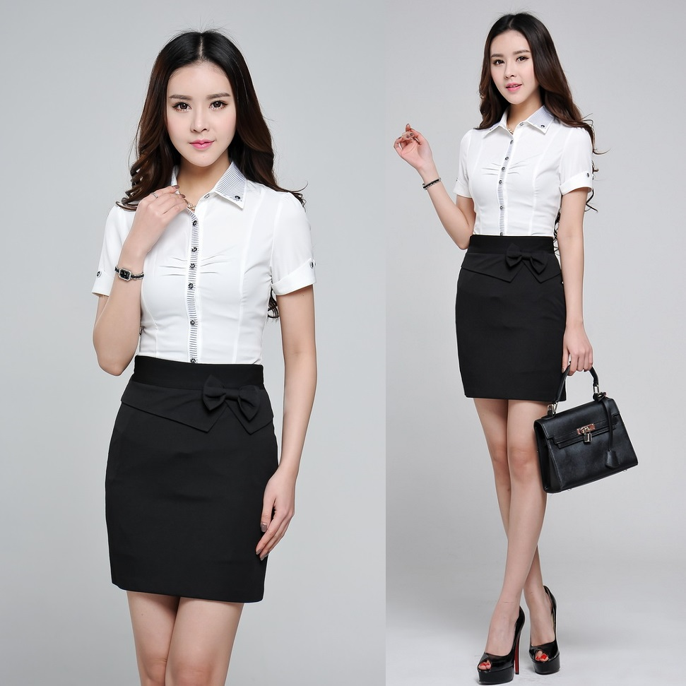 Aliexpress.com : Buy Fashion Summer Women Skirt Suits Two Piece ...