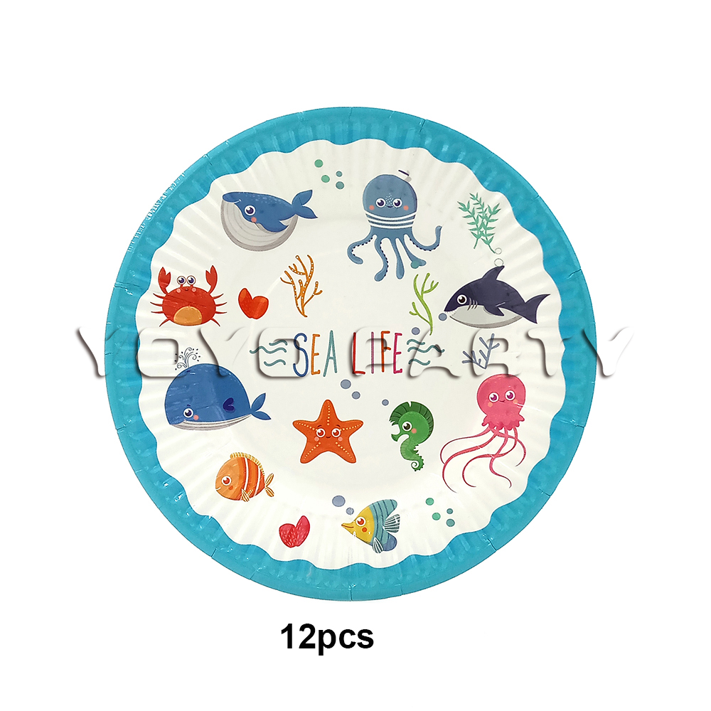 12 x Happy Easter Paper Party Plates 23cm Easter Chick Eggs Daffodil Design