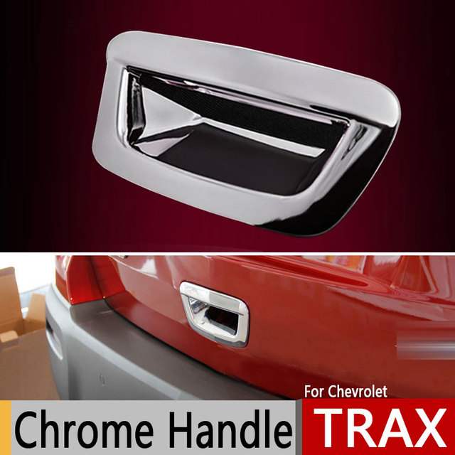 For Chevrolet TRAX Opel Mokka Chrome Trunk Handle Covers for Buick ...