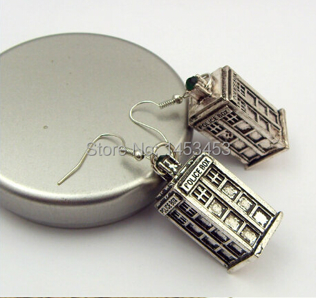 Accessories fashion accessories Doctor Who for fk 01 tardis for earrings