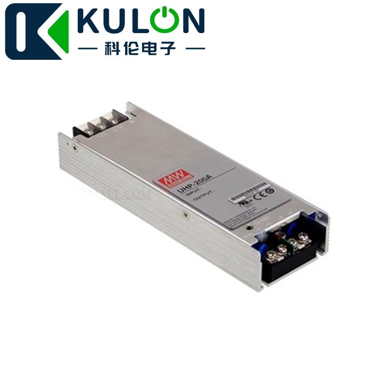 MEANWELL UHP-200A-4.5 4.5 V 40A 180 W sortie unique avec fonction PFC indicateur LED pour la mise sous tension 3 ans de garantie