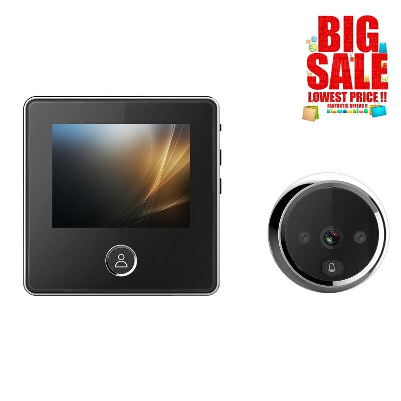 Hot Sell 3.0 Inch Digital Door Camera Doorbell LCD Color Screen 120 Degree Peephole Viewer Door Eye Doorbell Outdoor Door Bell