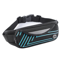 Wholesale Outdoor Sports Bum Bag Running Belt Waist Pack Travel Zip Pouch Money Phone anti-theft Pack Belt Sport Bag недорого