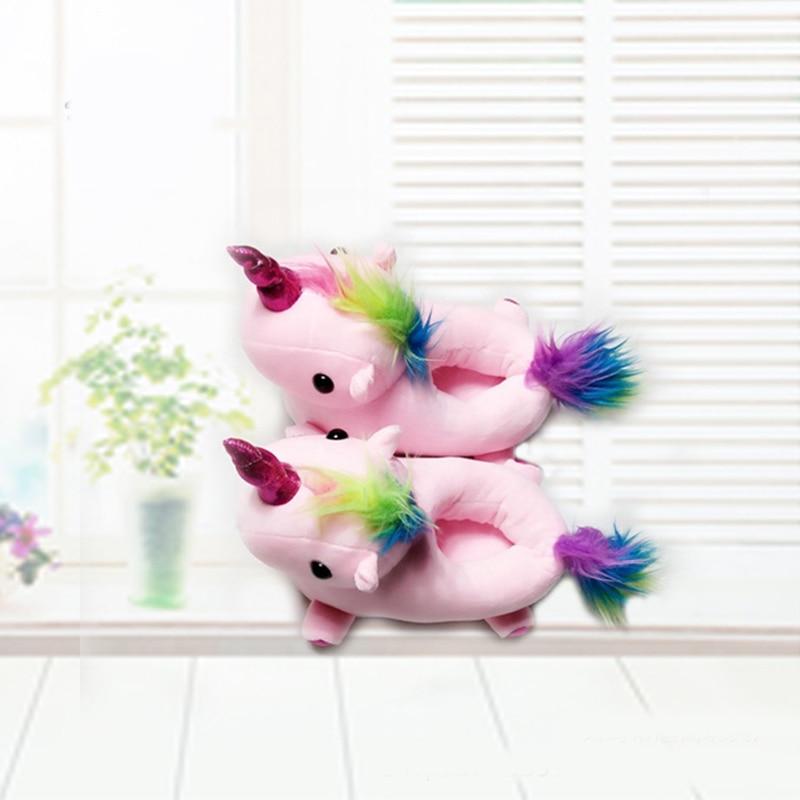 Plush-Shoes-Boys-Girls-Unicorn-Cotton-Slippers-Warm-Soft-Bottom-Indoor-Shoes-Cute-Animal-Unicorn-Shark (4)