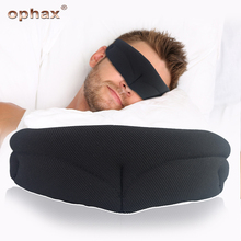 OPHAX Silk Sleep Mask Rest Travel Relax Sleeping Aid Eye Blindfold Portable Soft Black Gray Cover Patch For Men Women
