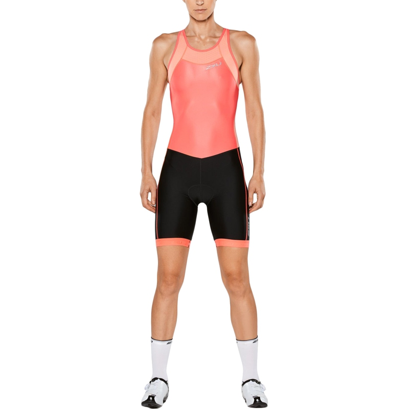 X-Vent 2XU Women's Starter Suit with Y-Straps Perform Series (Size M, Coral / Black) TmallFS m style диван coral