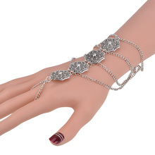 Manerson Anklet Ankle Bracelet Halhal Boho Hand Jewelry Pie Silver on Leg Chain Harness Ethnic Coin Beach Accessories for Women
