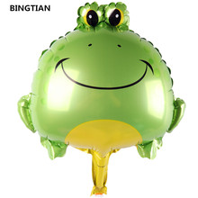 BINGTIAN snail duck frog bee balloons first birthday party balloon decoration toy(China)