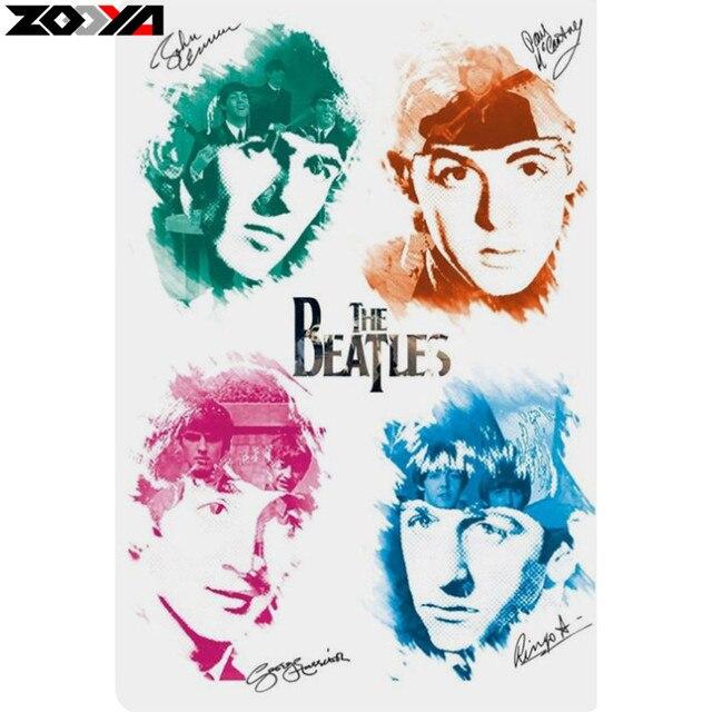Zooya 5d Diy Diamond Embroidery The Beatles Diamond Painting Cross
