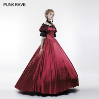 PUNK RAVE Vintage Palace Gorgeous Long Dress Victorian Style Elegant Halloween Cosplay Dresses Gothic Lolita Wedding Party Dress