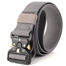 Outdoor Army Military Tactical Camo Belt Mens Safety Nylon Male Combat Waistband MTNL201