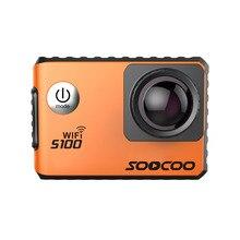 Soocoo s100 4К спорт камера 4 К wi-fi встроенный гироскоп с gps расширение (gps модели не включают) действий cam экшен-камера