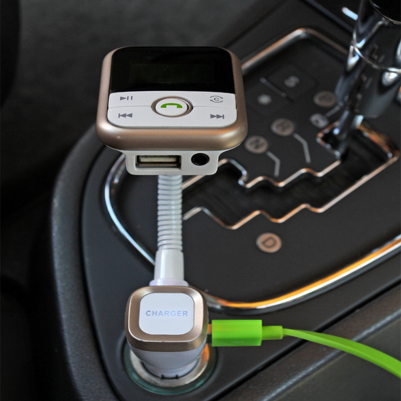 INGMAYA автомобилно зарядно USB 5V2.1A Bluetooth FM - Резервни части и аксесоари за мобилни телефони - Снимка 5