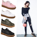 Superstar Quality Women Flats Platform shoes Patent Leather oxford shoes for women Creeper black Brogue Loafers Brand