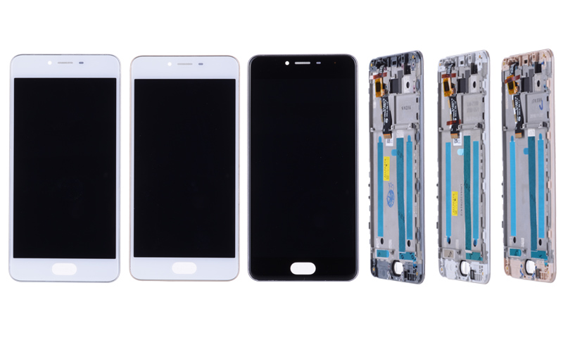 5.0 Black White Original M3S Mini LCD For MEIZU M3S Display Touch Screen with Frame M3 S LCD Screen Y685H Replacement (8)