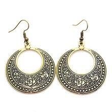 Vintage Bronze Antique Multiple Designs Drop Earrings Jewelry
