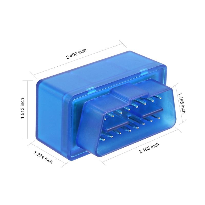 Bestbewertet V1.5 Super-mini-elm327 Bluetooth OBDii/OBD2 Wireless Mini ELM327 CANBUS Unterstützung Alle OBD2 Modell Freies verschiffen