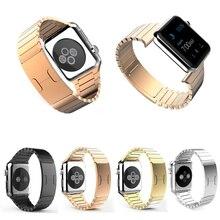 1:1 оригинальный скрытая застежка часы для Apple , часы 38 мм 42 мм нержавеющей стали группы контур