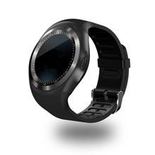 Смарт-спортивные часы для apple ios iphone android samsung huawei поддержка sim-карты tf карты bluetooth wristphone нескольких языков y1