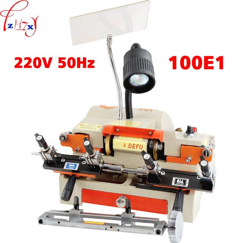 Multi Functional Key Duplicating Machine 220v 50hz Key Making Machine for Locksmith 100E1