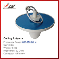 New Arrival Top Quality High Gain 7dBi ATNJ 800 2500mhz Indoor Ceiling Antenna For 2G 3G