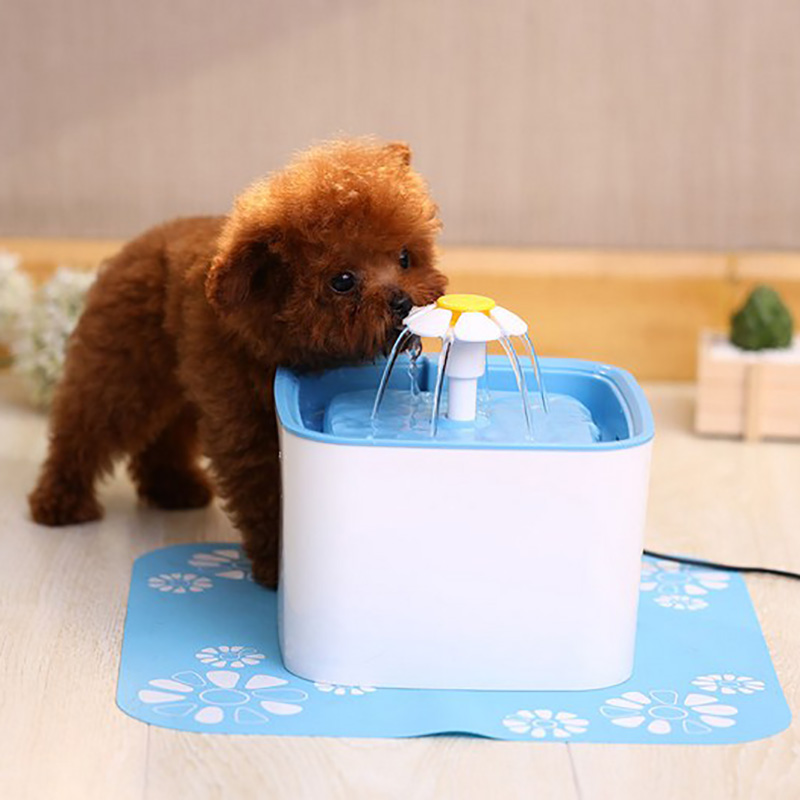 Automatic Pet Cat Water Drinking Fountain 3 Stage