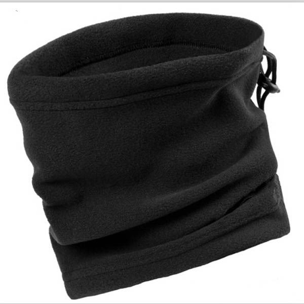 Men Camping Hiking Scarf Polar Fleece Thermal Balaclava Neck Gaiter Warmer Turtles Neck Tube Face Mask Headwear Beanie Hat