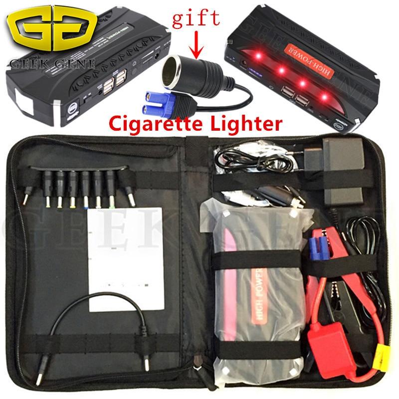 где купить Emergency Car Jump Starter 12V 600A Portable Starting Device Power Bank Car Charger For Battery Booster Diesel Petrol Starter CE дешево