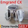 4 PCS/SET For Geely Emgrand CK Accessories Chrome Door Handle 2007 2008 2009 2010 2011 2012 2013 2014 2015 Stickers Car Styling