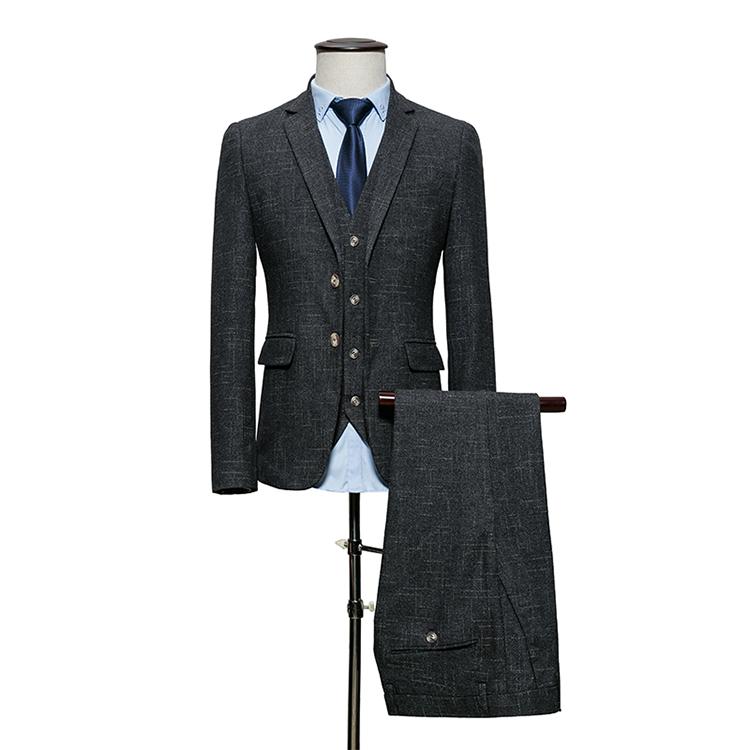 Men suits dark gray