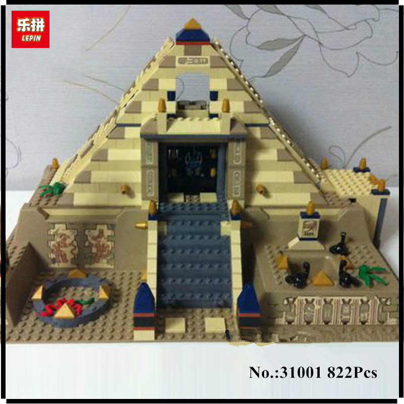 IN STOCK Lepin 31001 822Pcs Egypt Pharaoh Series The Scorpion Pyramid Educational Building Blocks Bricks Toys Model Gift спортивные комплексы midzumi детский спортивный комплекс keizai
