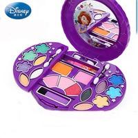 Genuine Disney Children's Cosmetic Set Makeup Box Girl Princess Set Sophia Cosmetic Case Nail Polish cosmetic set for kid