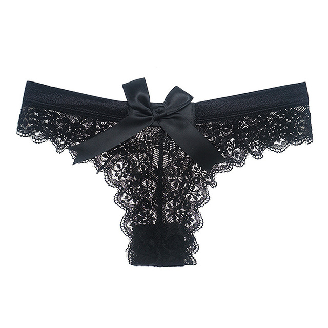 914f0f0f55 Amazing Women Lingerie G String Lace Underwear Femal Sexy T-back Thong  Sheer Panties Japan