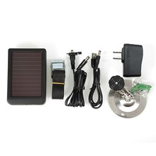 7V 1500mah Solar Charger Panel Power Supply for Hunting Camera HC 300M HC300 Sports camera accessories