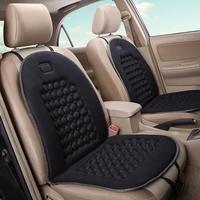 أسود مقعد السيارة وسادة العلاج بالتدليك مبطن فقاعة رغوة كرسي مقاعد وسادة السيارات مقعد الغطاء