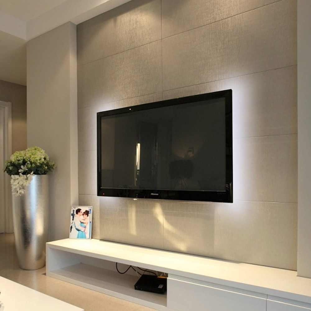 WASEDA USB تيار مستمر 5 فولت LED قطاع ضوء التلفزيون إضاءة خلفية SMD5050 تيار مستمر 5 فولت مرنة LED الشريط 50 سنتيمتر 1 متر 2 متر 3m لتقوم بها بنفسك شريط زخرفي