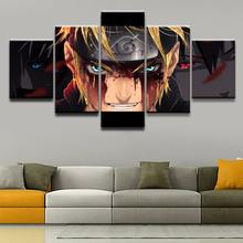 5 Panel Naruto Uzumaki Painting Wall Art