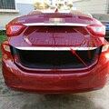 For Chevrolet Cruze 2016 2017 stern Door Sticker Stainless Steel back door trim Car Styling Accessories