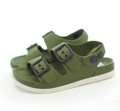 2019 Summer Boys Plastic Sandals Fashion Casual Non-slip Sandals Plastic Beach Shoes