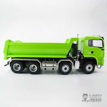 1/14 truck MAN (TGS) 8X8 hydraulic U bucket dump truck model high